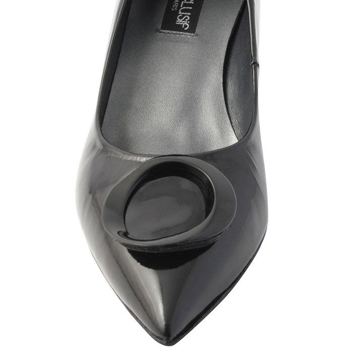 Chaussures à talons alienor noir Exclusif Paris