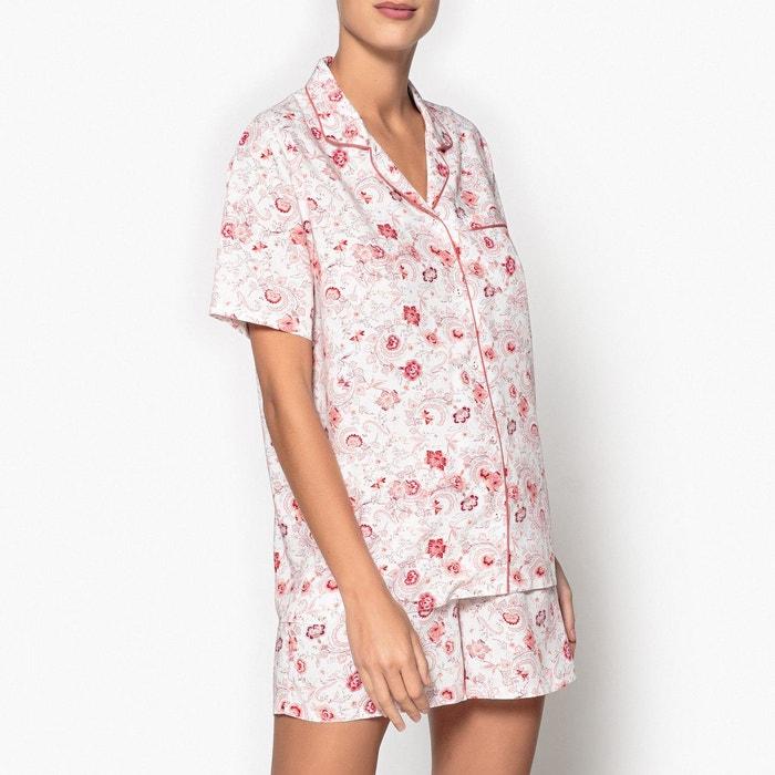 Pyjashort chemise imprimé La Redoute Collections