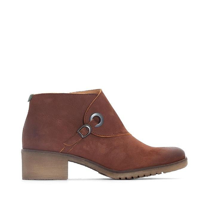Boots cuir miss marron Kickers De Gros 4tgSD8Yz