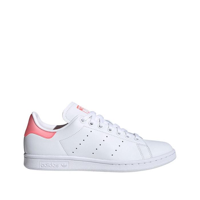 Baskets stan smith blanc rose Adidas Originals | La Redoute