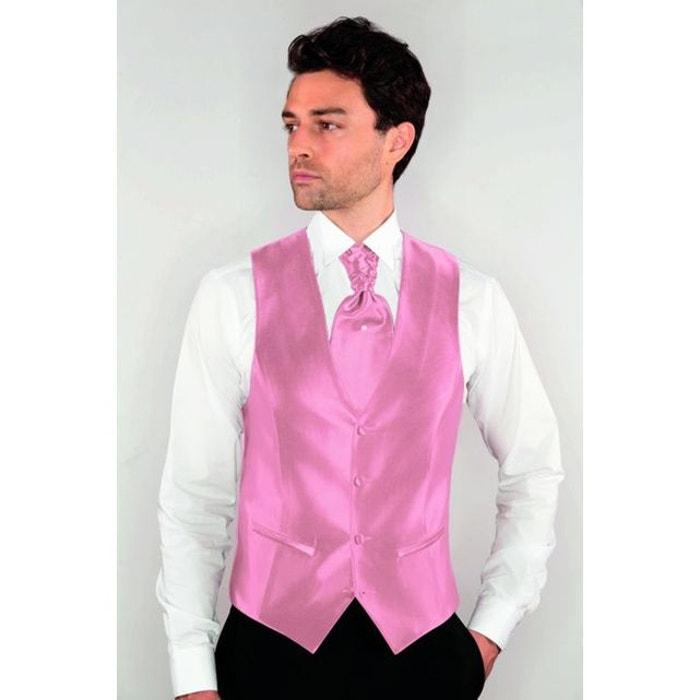 gilet de costume homme ajustable rose rose dymastyle la redoute. Black Bedroom Furniture Sets. Home Design Ideas