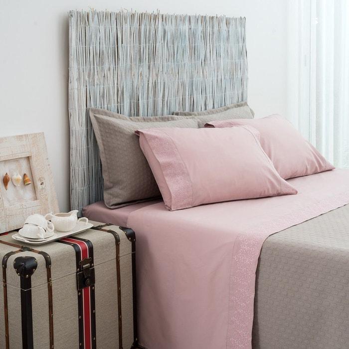 ilusion parure draps rose asa la redoute. Black Bedroom Furniture Sets. Home Design Ideas