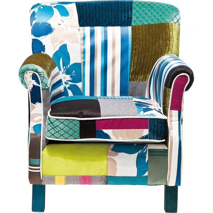 Fauteuil Patchwork Stripes Kare Design Kare Design La Redoute - Fauteuil patchwork design