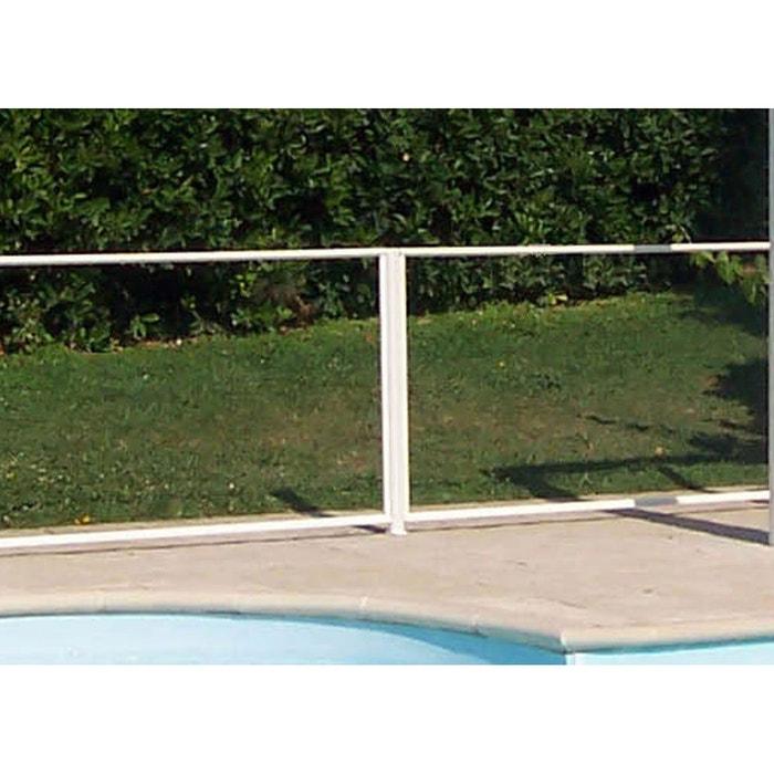 Poteau seul pour barri re de piscine couleur unique chalet for Piscine libertine