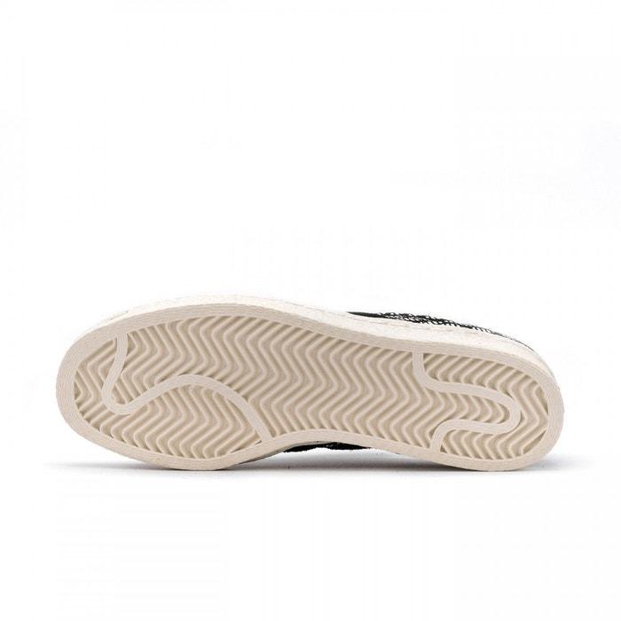 Baskets Python Noir Femme Superstar Adidas Originals 80s WvHq1qB4O