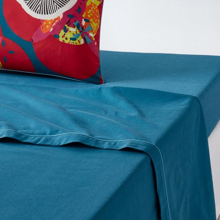 drap plat uni pur coton n nuphar la redoute interieurs la redoute. Black Bedroom Furniture Sets. Home Design Ideas
