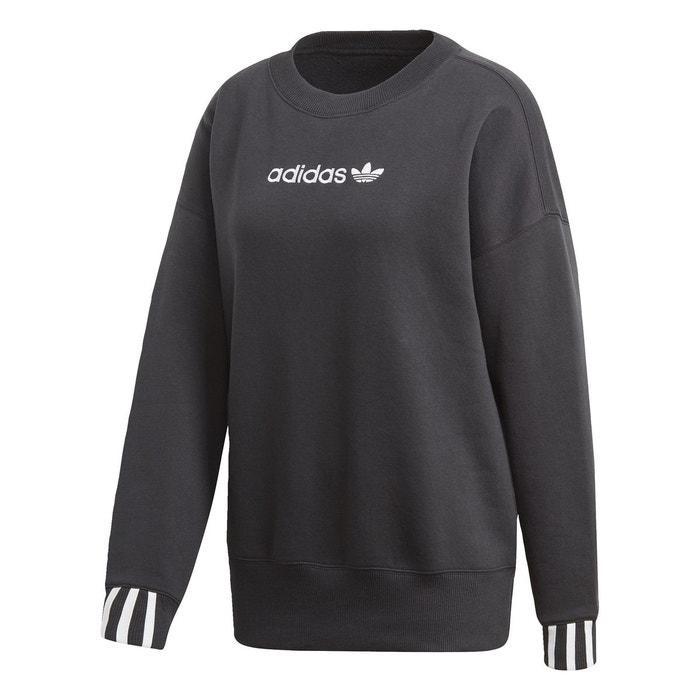 9969cfa524 Sweat-shirt coeeze noir Adidas Originals   La Redoute