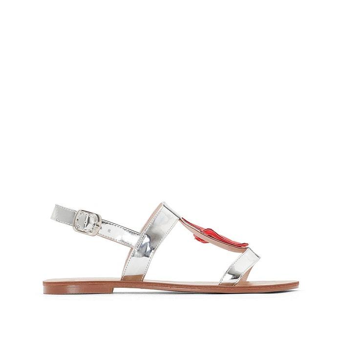 Sandales synthétique   argent Mademoiselle R   La Redoute