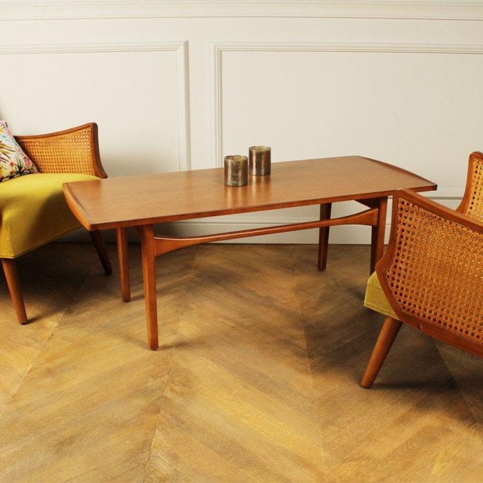 table basse en bois dalhia acajou robin des bois la redoute. Black Bedroom Furniture Sets. Home Design Ideas