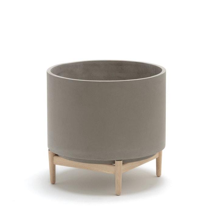 cache pot l50 x h45 cm florian ciment am pm la redoute. Black Bedroom Furniture Sets. Home Design Ideas