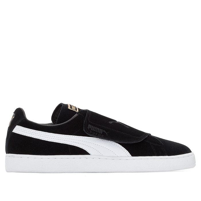 Baskets scratch suede strap noir/blanc Puma