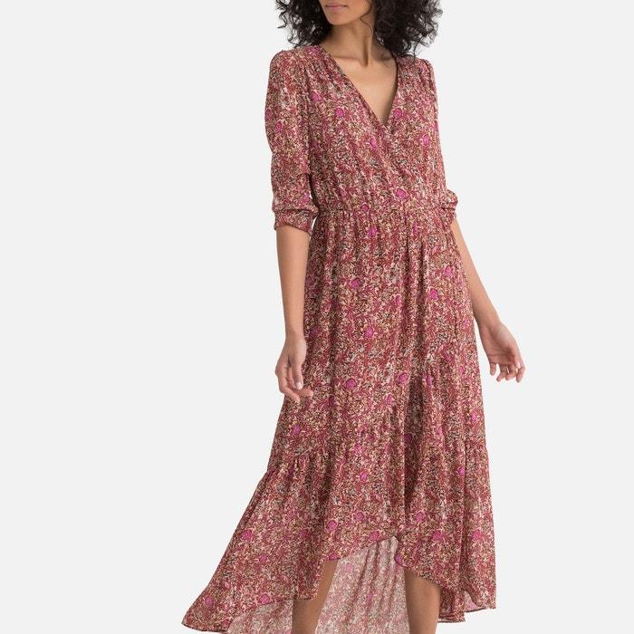 4218b173f78 Robe longue fleurie style bohème