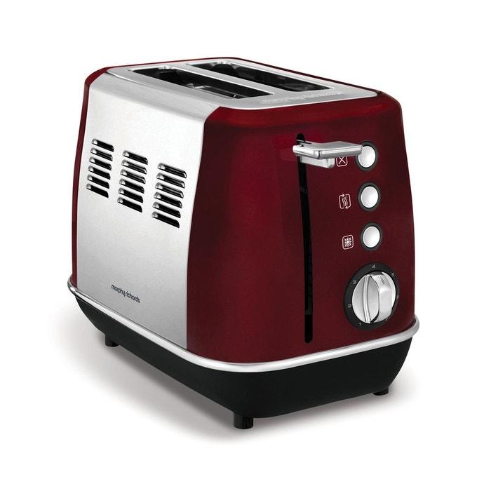 grille pain evoke m224408ee rouge morphy richards la redoute. Black Bedroom Furniture Sets. Home Design Ideas