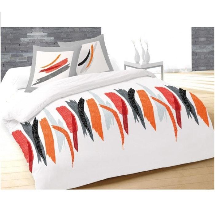 Parure housse de couette 240 x 220 cm tulle blanc couleur - Parure de couette la redoute ...