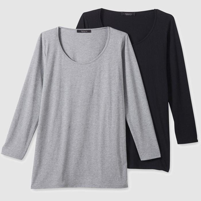 Tee shirt col rond uni, manches longues  CASTALUNA image 0