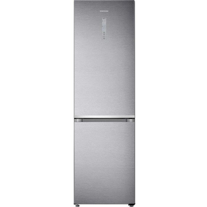 refrigerateur congelateur en bas rb41j7215sr inox inox samsung   la
