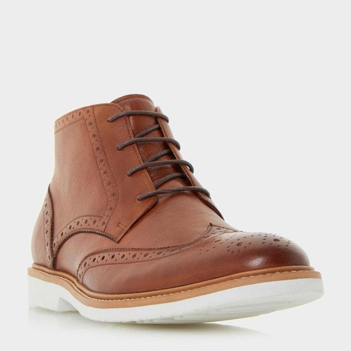 Boots richelieu casual - congo  fauve cuir Dune London  La Redoute
