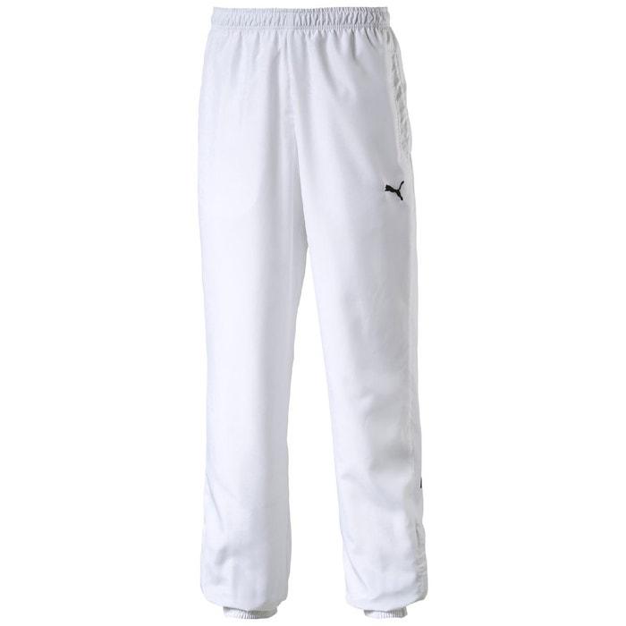 pantalon de sport homme blanc puma la redoute. Black Bedroom Furniture Sets. Home Design Ideas