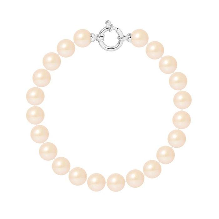 Bracelet or 375°°° rang véritables perles rose Perlinstinct   La Redoute Livraison Gratuite Sast HhJYSNDnr