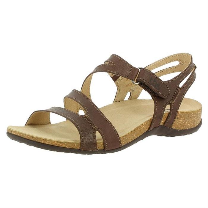 Sandales  /  nu-pieds cuir  blanc Tbs  La Redoute
