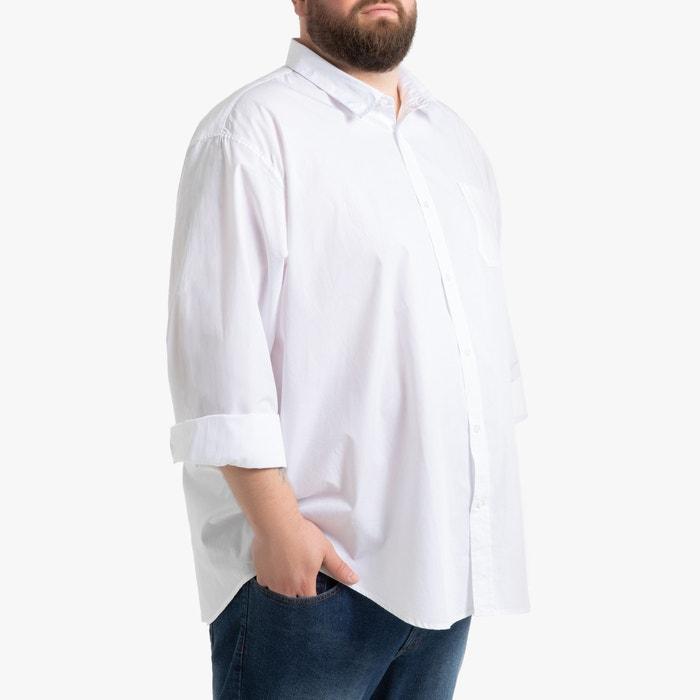 Recht hemd met lange mouwen, grote maten  LA REDOUTE COLLECTIONS PLUS image 0