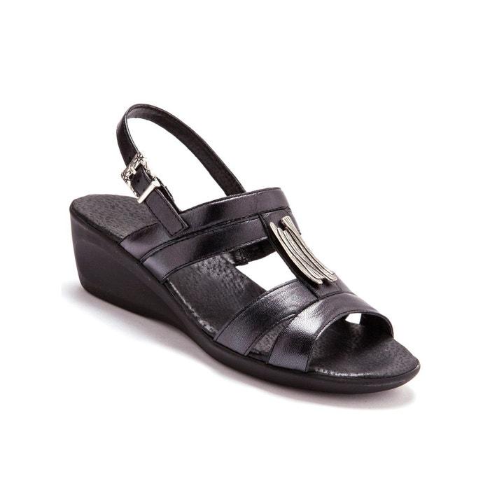 Sandales cuir, option chic Pediconfort
