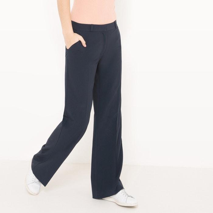 Image Basic Plain Loose Wide Leg Trousers R édition