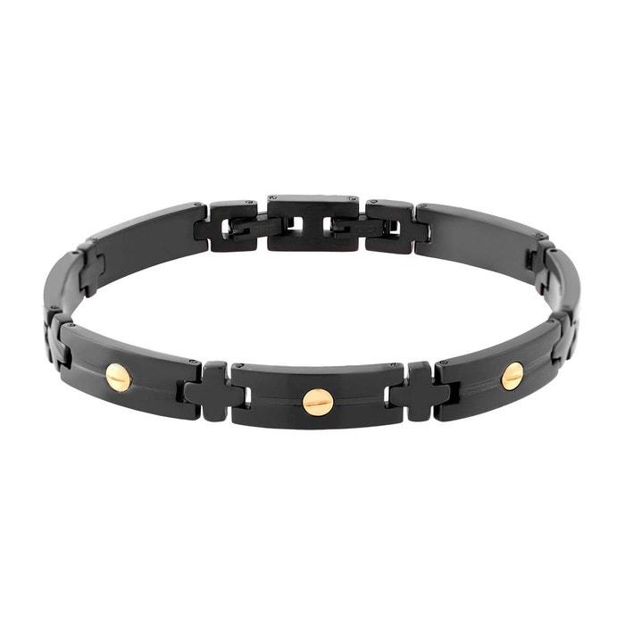 Nouvelle Arrivee En Ligne Pas Cher Officiel Bracelet male acier noir Male | La Redoute La Sortie Fiable 8In2n8