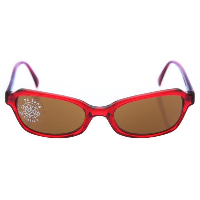 Lunettes de soleil px2000 606-fus rouge marron Vuarnet   La Redoute bfe6e07ac47b