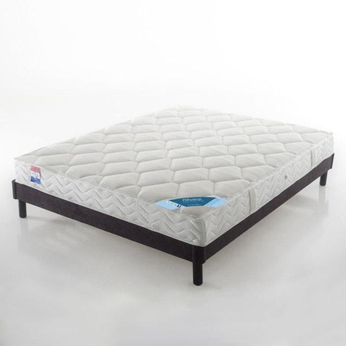 matelas latex grand confort tr s ferme 3 zones s blanc. Black Bedroom Furniture Sets. Home Design Ideas