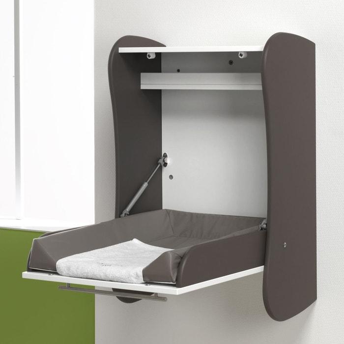 table a langer murale taupe taupe alfred et compagnie la. Black Bedroom Furniture Sets. Home Design Ideas