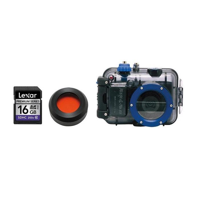 Appareil Photo Nikon A300 Rouge + Caisson + Filtre + Carte SD 16Go