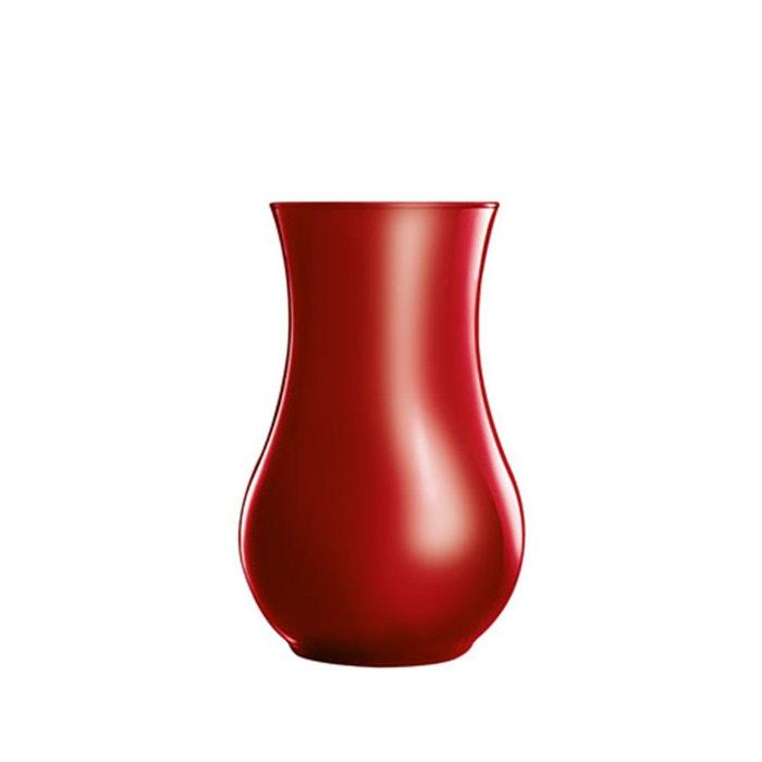 vase rouge en verre 20 cm flashy colors rouge luminarc la redoute. Black Bedroom Furniture Sets. Home Design Ideas