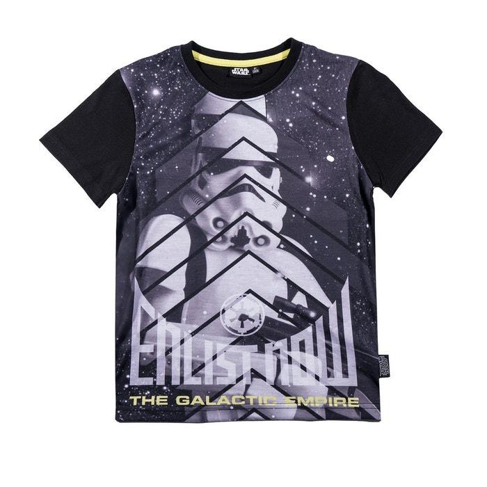 T-Shirt - Manches Courtes Garçon - Blanc - 7 AnsStar Wars Prix Discount Pas Cher Authentique RCTHVoj