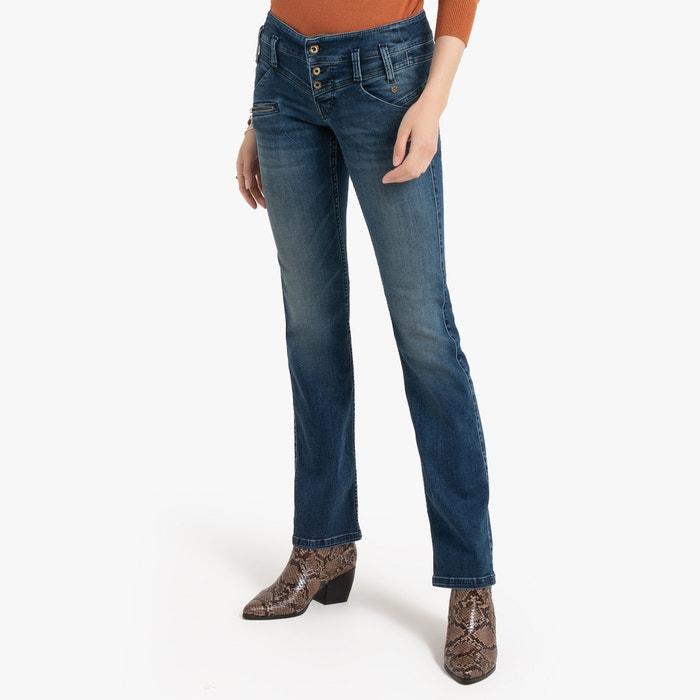 60c845524e Jeans straight amelie blu medio Freeman T. Porter | La Redoute
