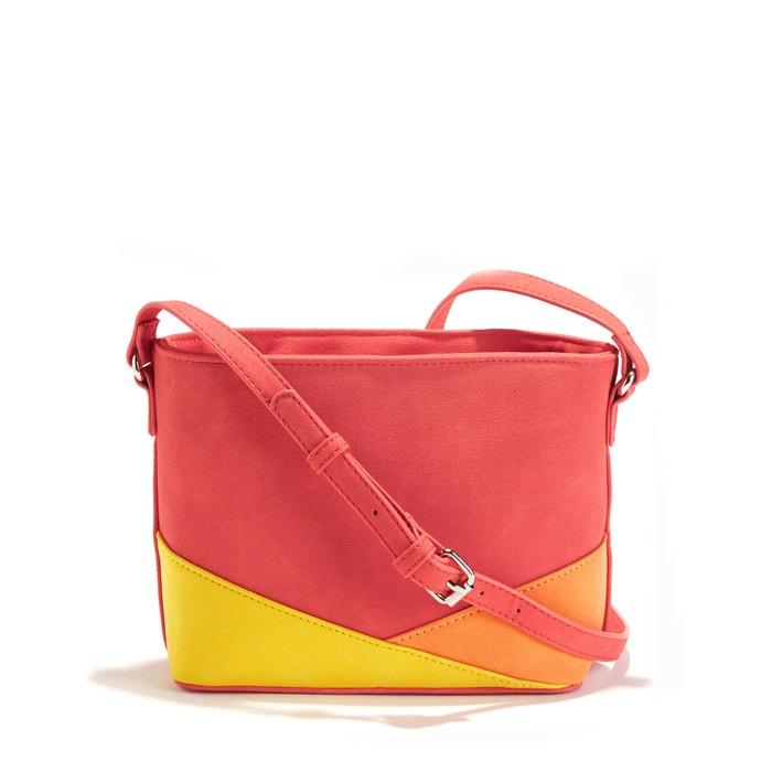 Three-Colour Handbag  La Redoute Collections image 0