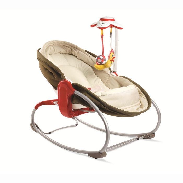 transat rocker napper 3 en 1 chocolat baby sun la redoute. Black Bedroom Furniture Sets. Home Design Ideas