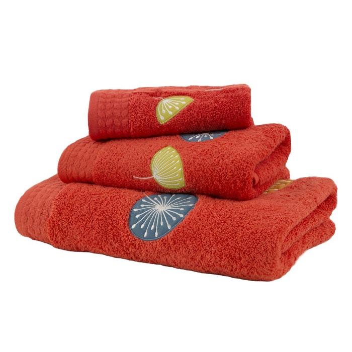 serviette de bain edition rouge olivier desforges la redoute. Black Bedroom Furniture Sets. Home Design Ideas