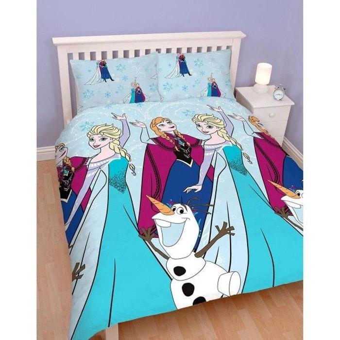 parure de lit double reine des neiges lights multicolore la reine des neiges la redoute. Black Bedroom Furniture Sets. Home Design Ideas