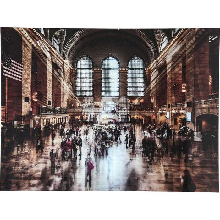 tableau en verre grand central station 120x160cm kare design multicolore kare design la redoute. Black Bedroom Furniture Sets. Home Design Ideas