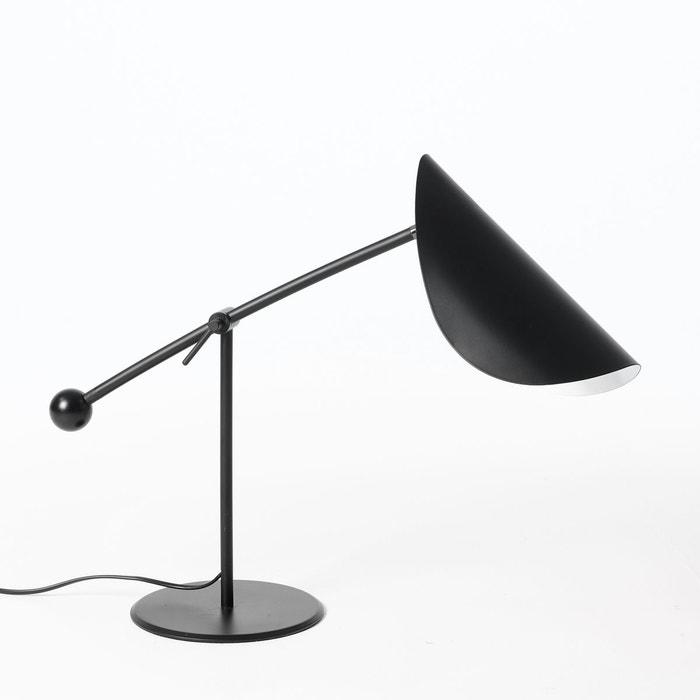 lampe poser funambule noir am pm la redoute. Black Bedroom Furniture Sets. Home Design Ideas