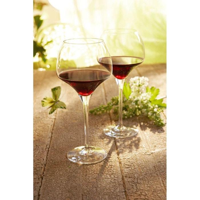 verre vin 32 cl vendu par 6 open up tasting transparent luminarc la redoute. Black Bedroom Furniture Sets. Home Design Ideas