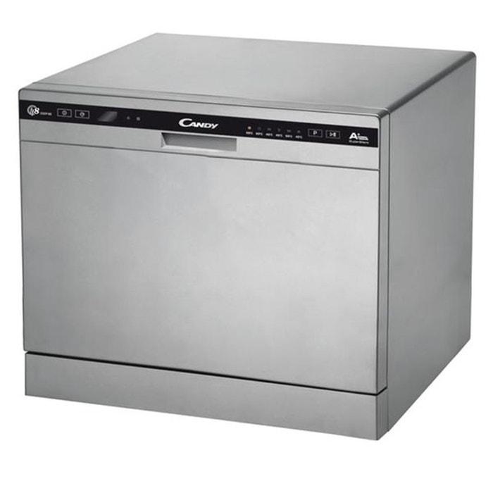 Lave vaisselle 45cm candy cdcp 8 e s argent candy la redoute - La redoute lave vaisselle ...