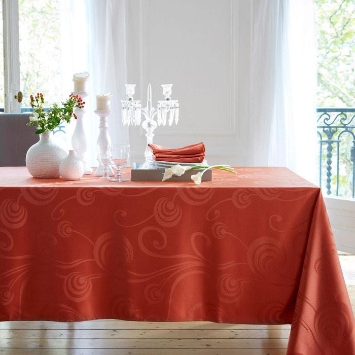 nappe jacquard 100 polyester damass e la redoute. Black Bedroom Furniture Sets. Home Design Ideas