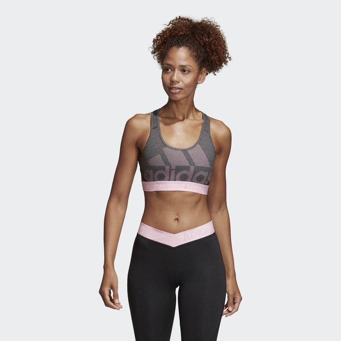 Adidas Performance Sport Femmes Soutien-gorge alphaskin sprt Bra Gris Vêtements, accessoires fitness Sports, vacances