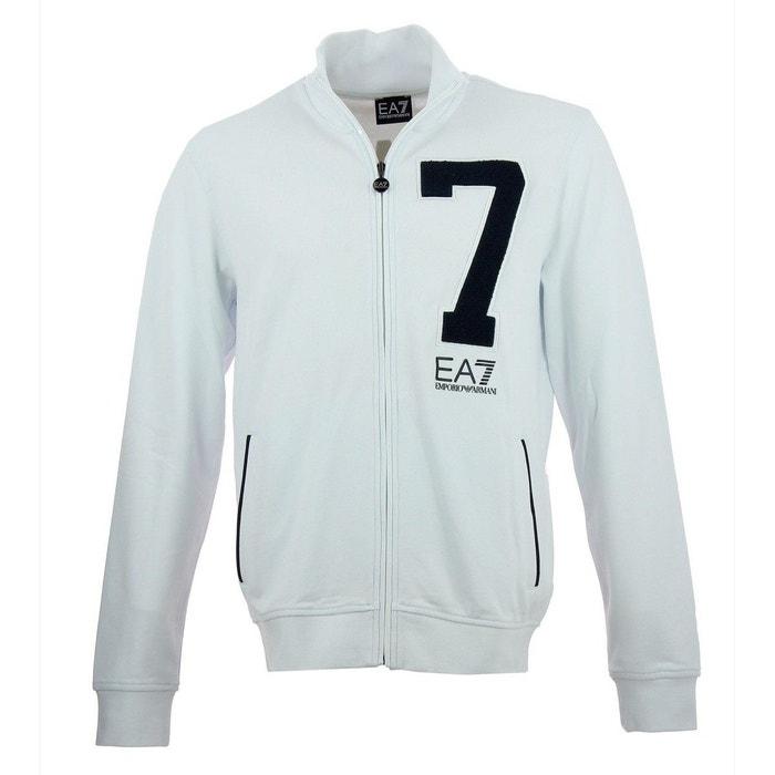 d546e11fc44e Sweat (blanc) coton blanc Emporio Armani Ea7