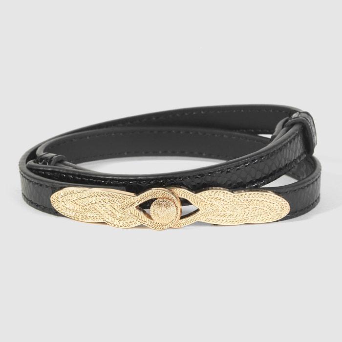 Slim Jewelled Belt