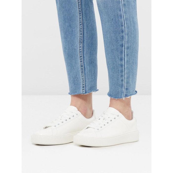 Baskets à lacets Bianco
