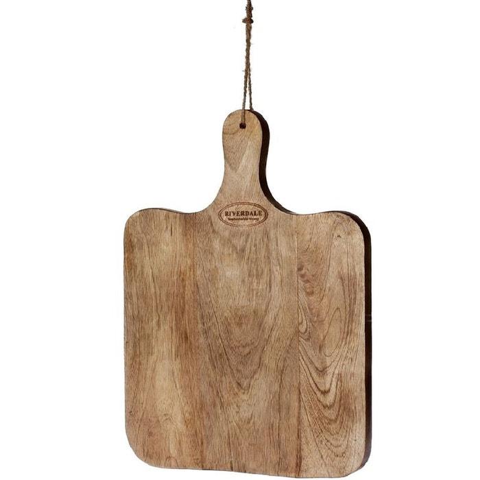 planche de d coupe en bois naturel 35 x 50 cm riverdale la redoute. Black Bedroom Furniture Sets. Home Design Ideas