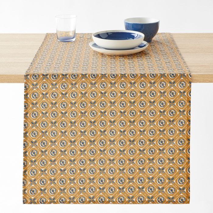 Bedruckter Tischläufer ORIANE aus beschichteter Baumwolle  La Redoute Interieurs image 0